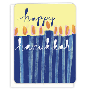 Blue-Candles-Hanukkah-Card