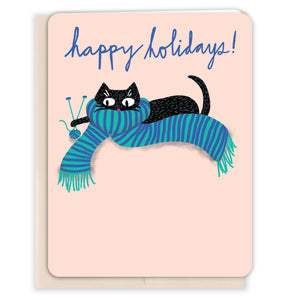 Knitting-Cat-Christmas-Card