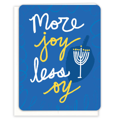 More-Joy-Less-Oy-Hanukkah-Card