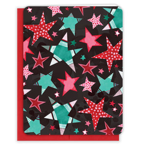 Patterned-Stars-Christmas-Card