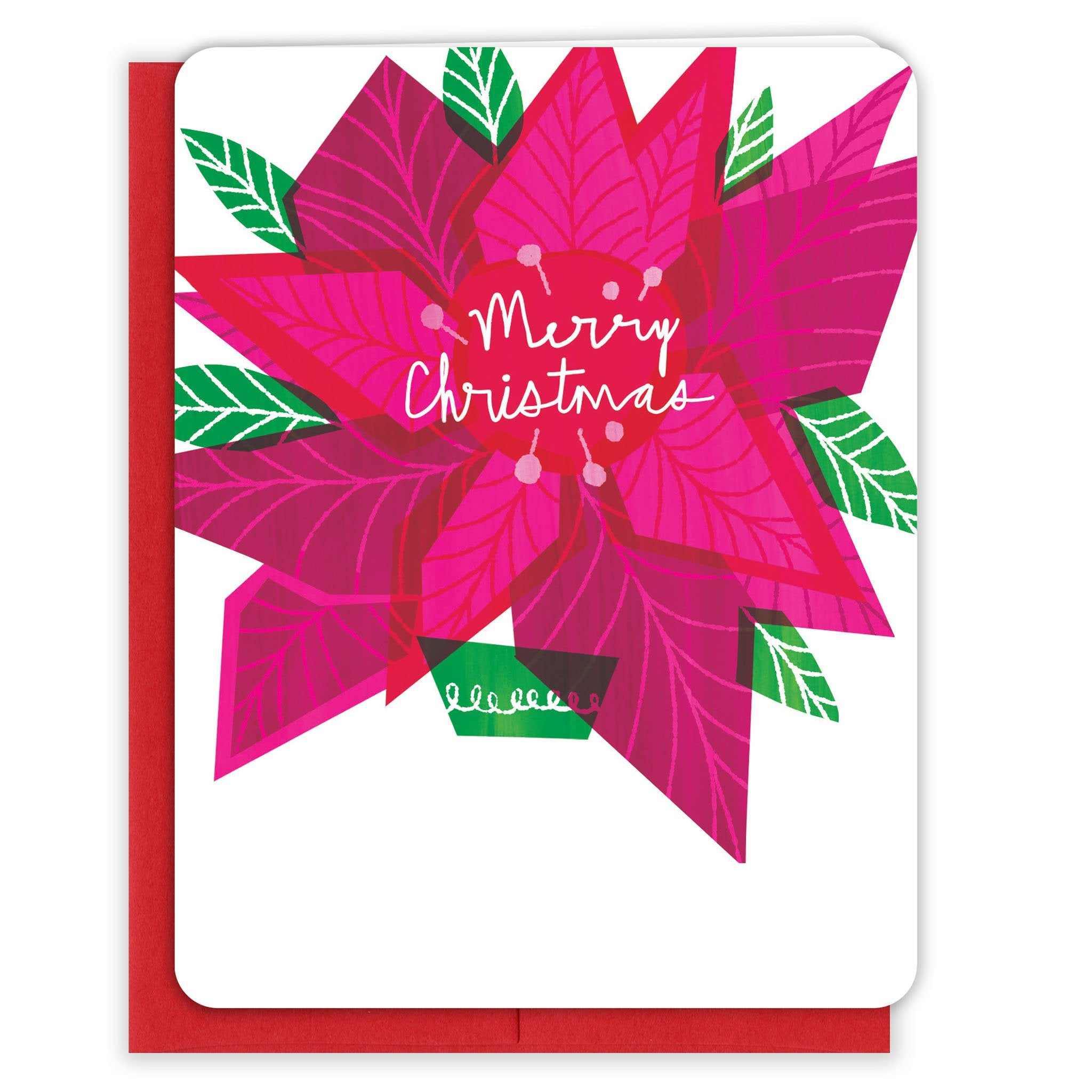 Pink-Poinsettia-Christmas-Card