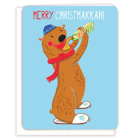 Eggnog-Christmakkah-Card