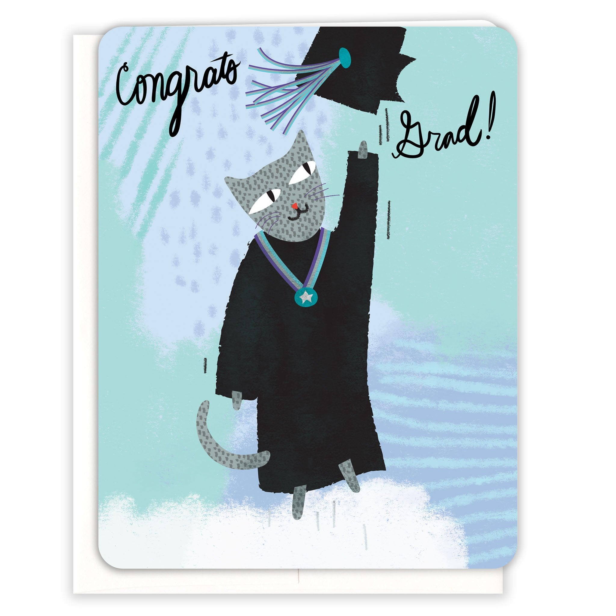 Happy-Cat-Grad-Graduation-Card