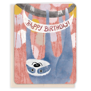 Swinging-Sloth-Birthday-Card
