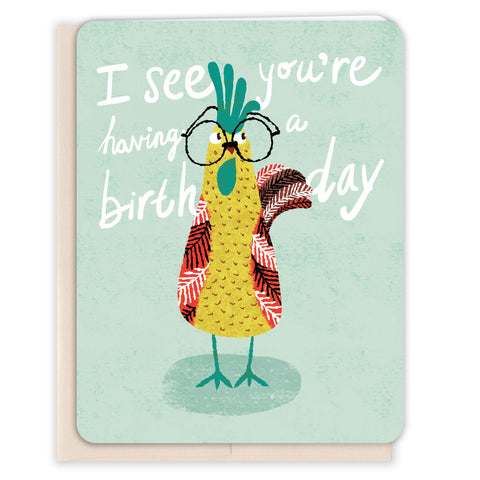 Rooster-Birthday-Card