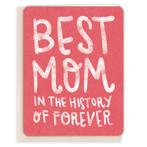 Best-Mom-In-Forever-Mothers-Day-Card