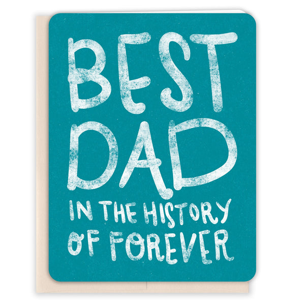 Best-Dad-In-Forever-Fathers-Day-Card
