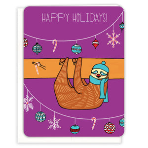 Sloth-Holiday-Holiday-Card