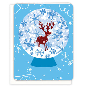 Snowglobe-Reindeer-Holiday-card