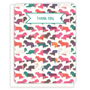 Dachshunds-Thank-You-Card