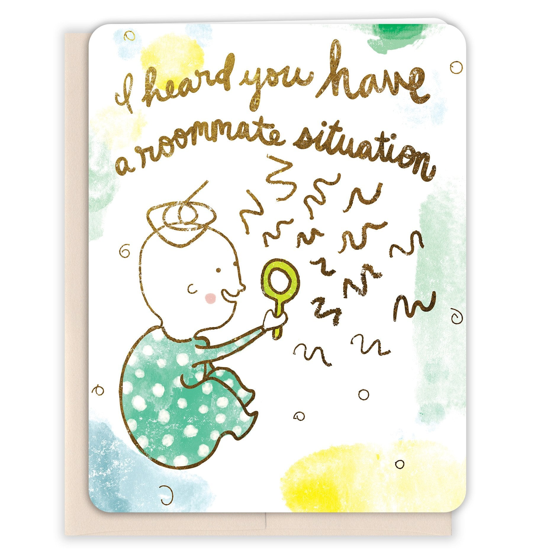 Rommate-Situation-Baby-Card
