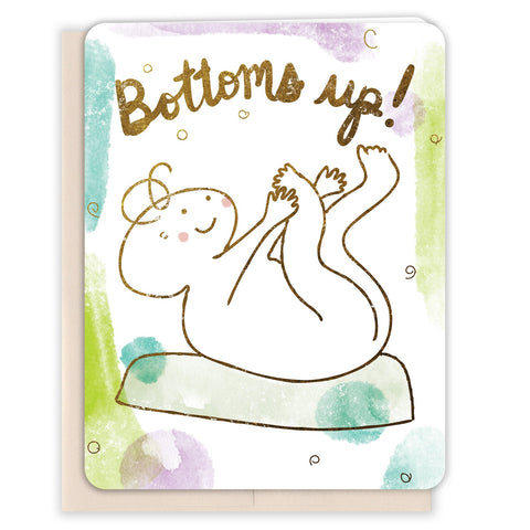 Bottoms-Up-Baby-Card