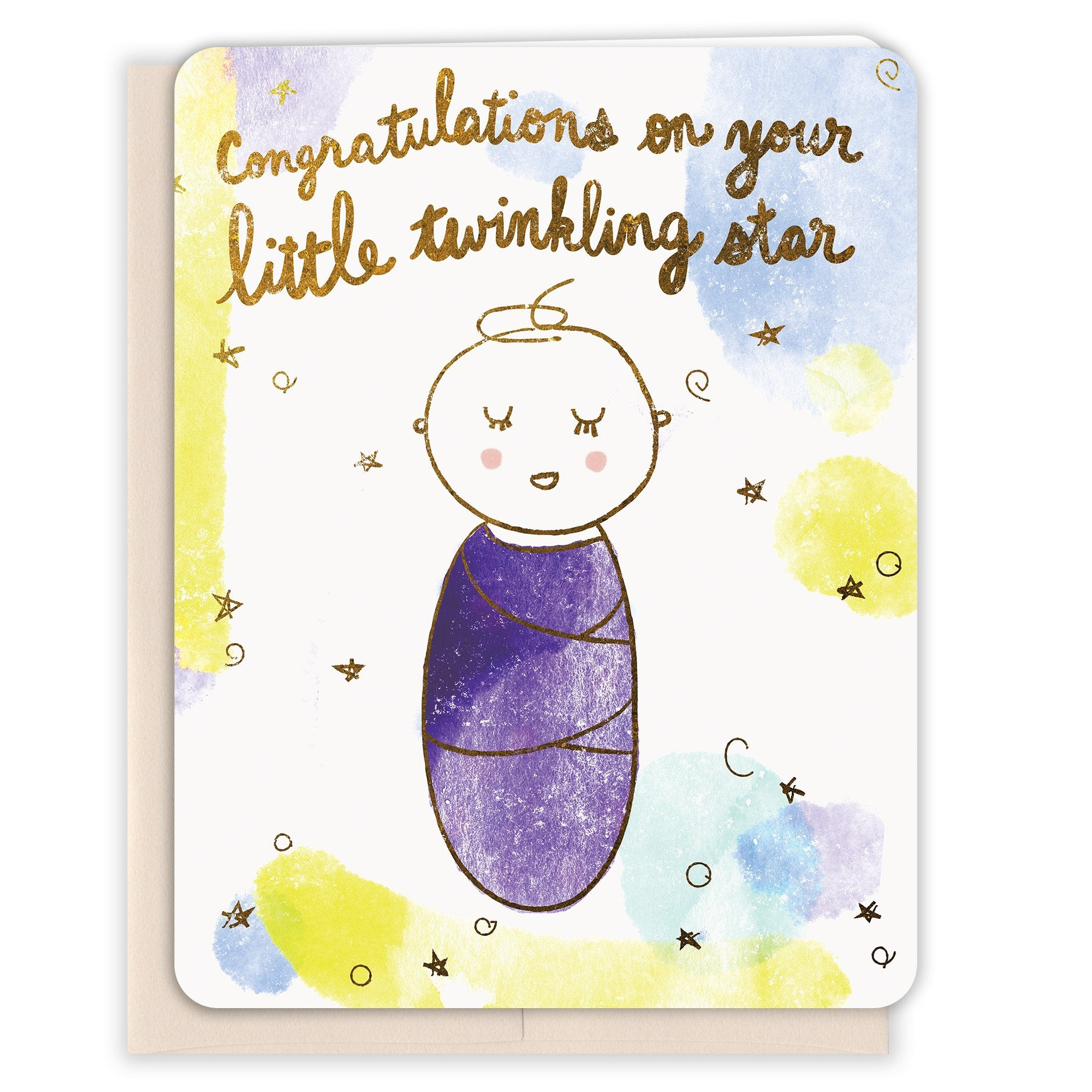 Twinkling-Star-Baby-Card