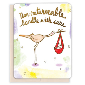 Non-Returnable-Baby-Card
