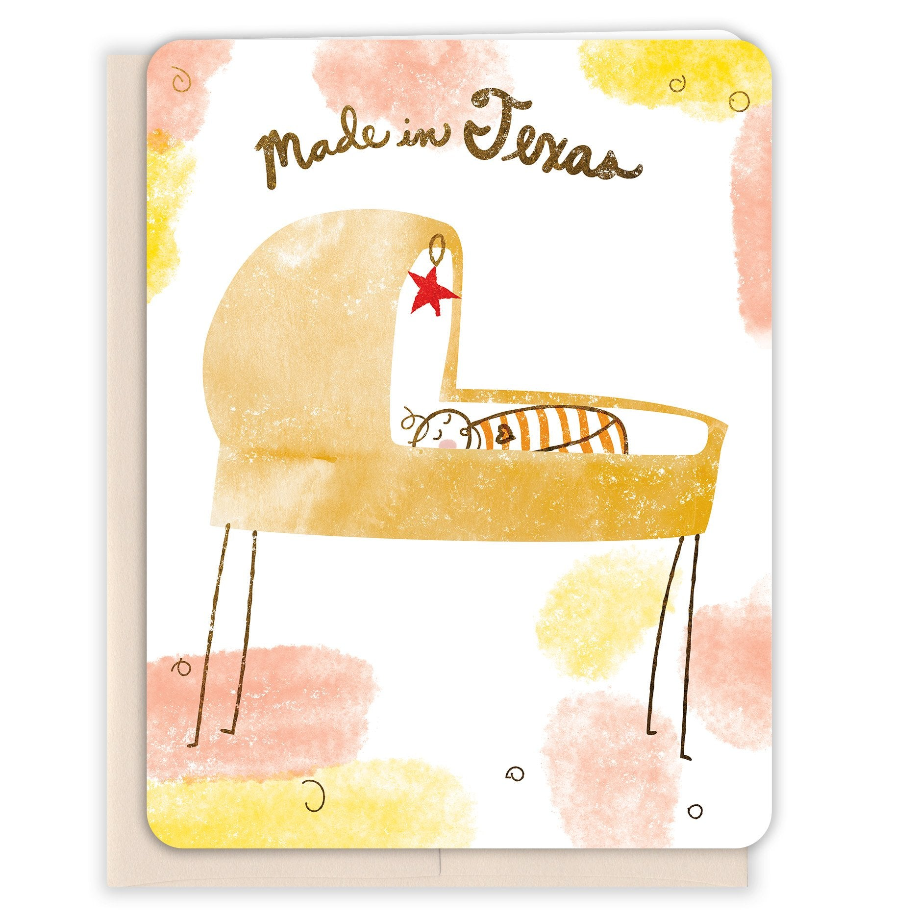 Made-in-Texas-Baby-Card