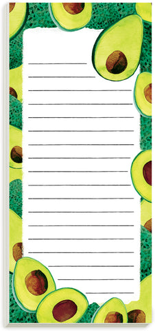 Avocados Magnetic List Pad