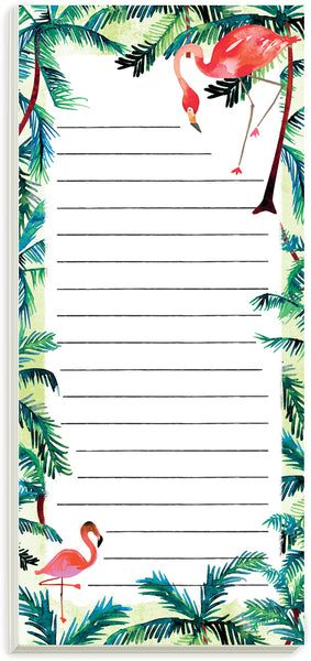 Flamingos Magnetic List Pad