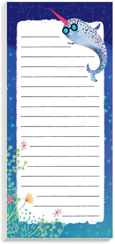 Narwhal Magnetic List Pad