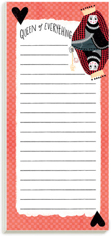 Queen Of Everything Magnetic List Pad