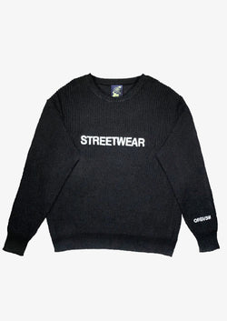 Streetwear Sweater Black Version