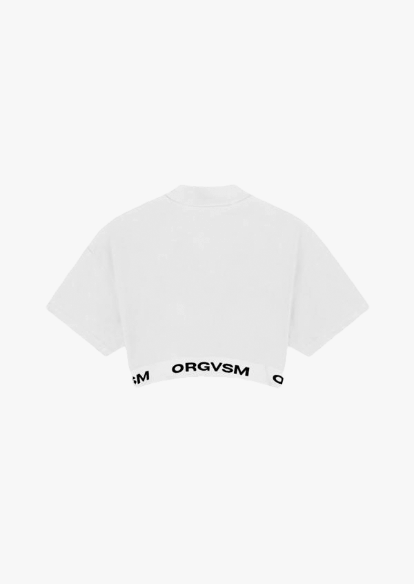 Crop Tee White Version