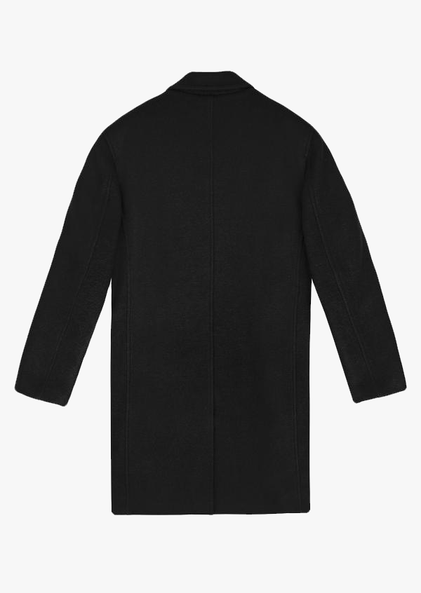 Wool Coat Black Version