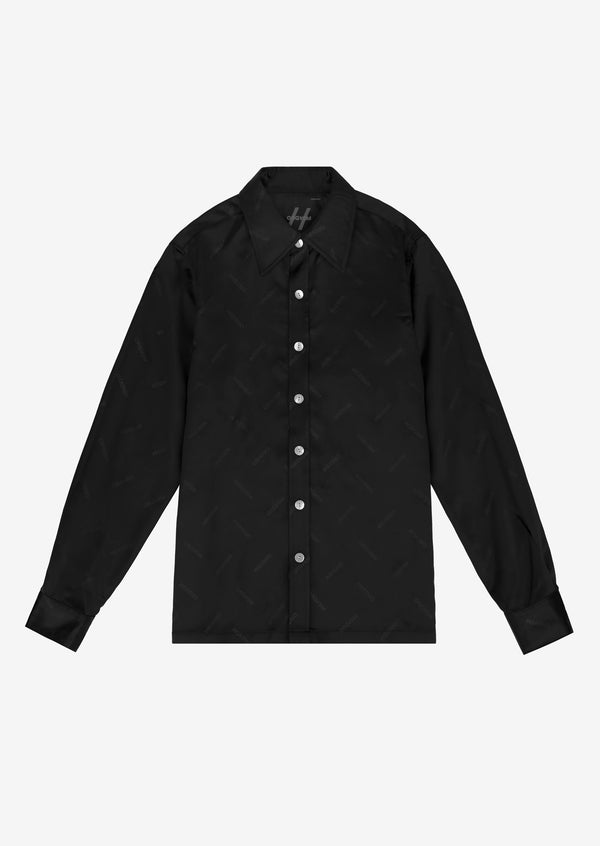 ORGVSM PATTERN SHIRT Black Version