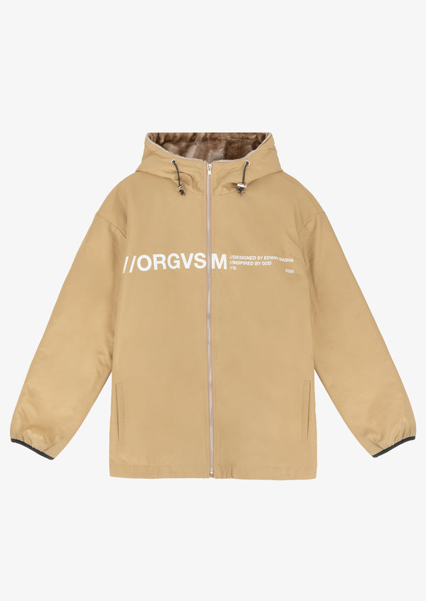 Technical Jacket Beige Version