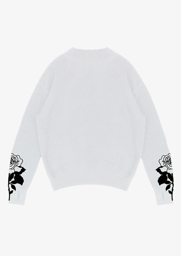 Long Sleeve Sweater White Version