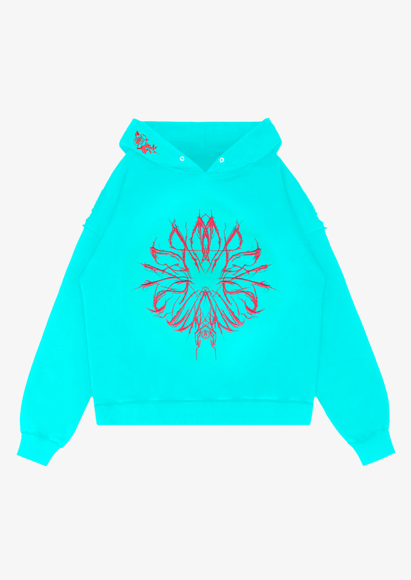 CHAOS HOODIE Light Blue Version