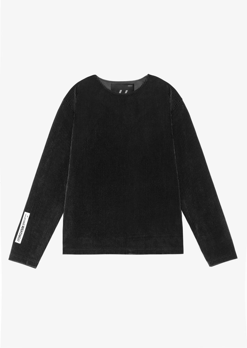 VELVET DEVORÉ SWEATER