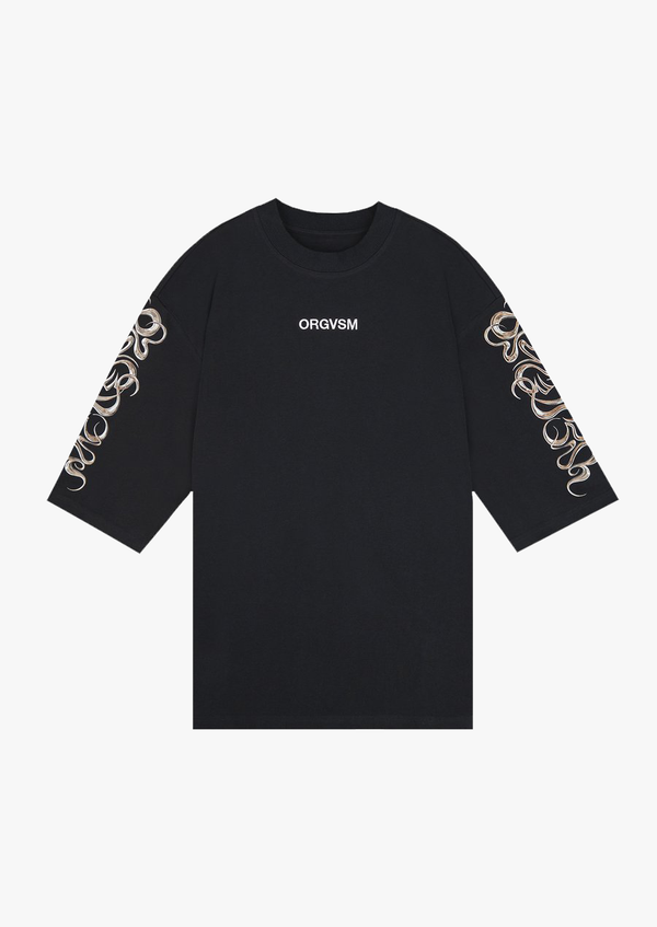 Celtic Runes T-Shirt Black Version