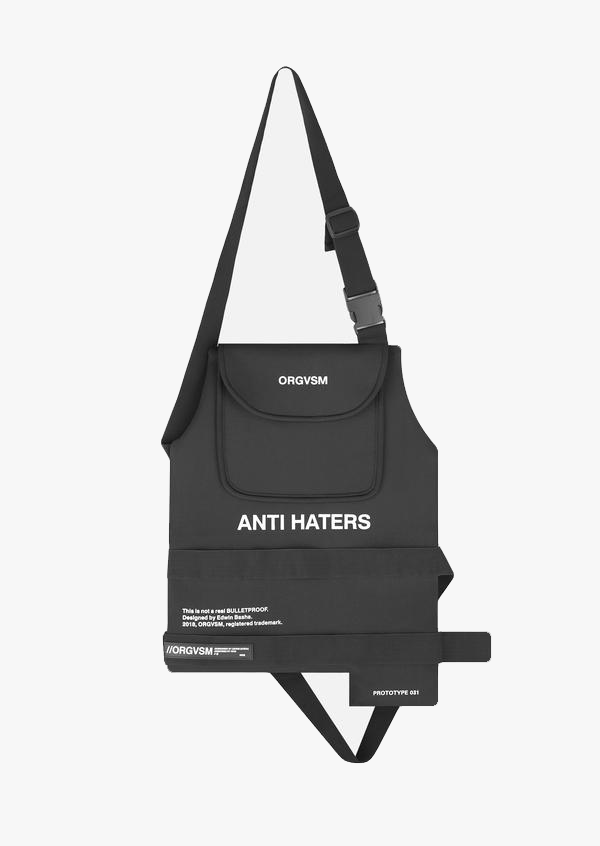 Anti-Haters Fake Bullet-Proof