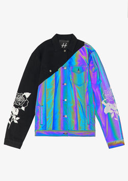 IRIDESCENT / BLACK JACKET