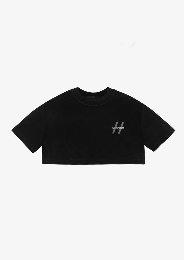2020 Cropped Tee Black Version