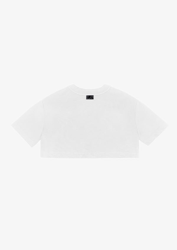 2020 CROPPED TEE White Version