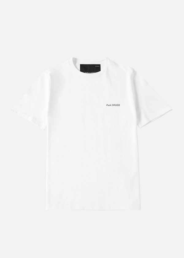 Fuck Drugs T-Shirt White