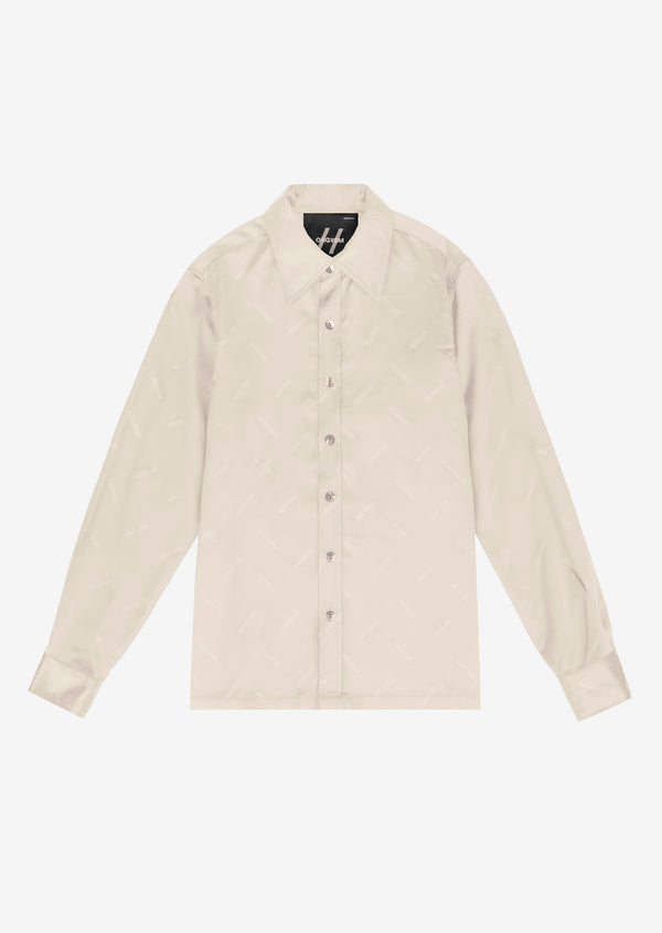 Orgvsm Pattern Shirt Beige Version