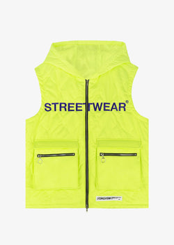 STREETWEAR GILET Fluo Version