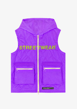 STREETWEAR GILET Purple Version