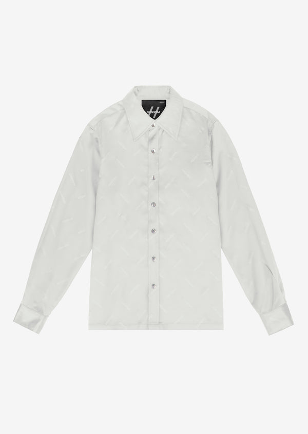 ORGVSM PATTERN SHIRT White Version