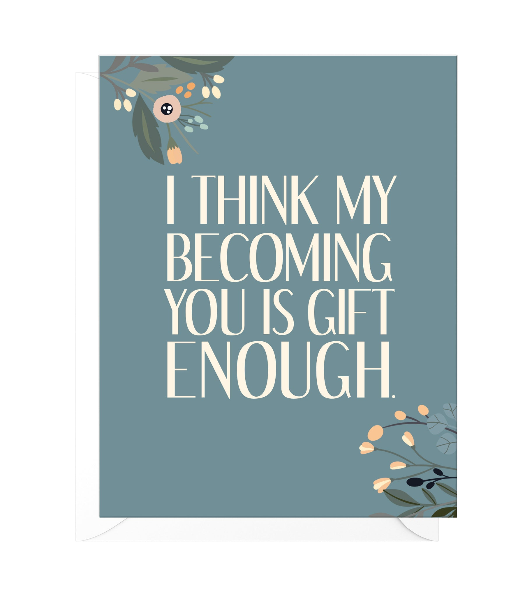 Becoming You Funny Mother's Day Card