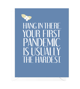 First Pandemic Funny Encouragement Card