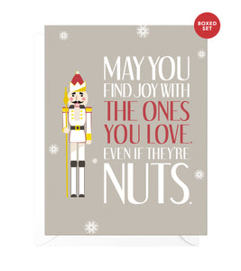 A Little Nuts Funny Boxed Christmas Cards