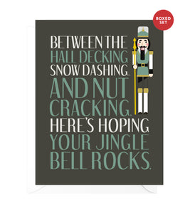 Jingle Bell Rocks Funny Boxed Christmas Cards