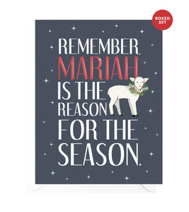 Mariah Funny Boxed Christmas Cards