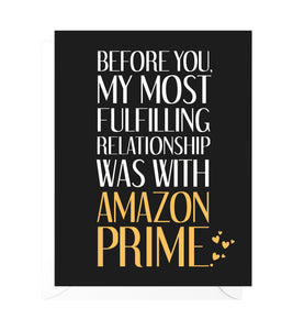 Fulfilled by Amazon Funny Valentine's Day Card