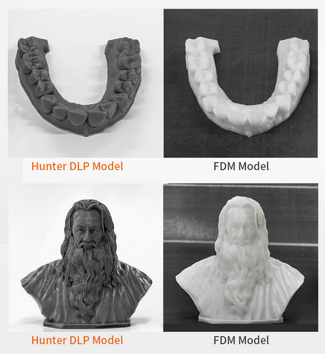 Flashforge Hunter Dental and Jewelry Industry Use DLP 3D Printer