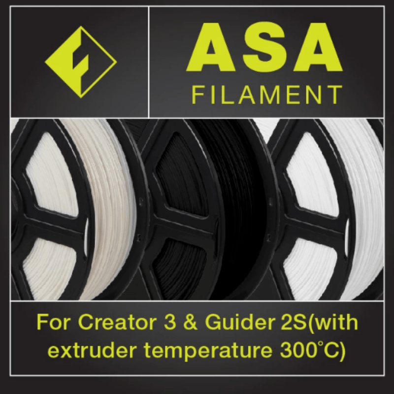 FlashForge FlashForge ASA Industrial Grade Filament 1.75 MM (Creator 3 and Guider 2s)