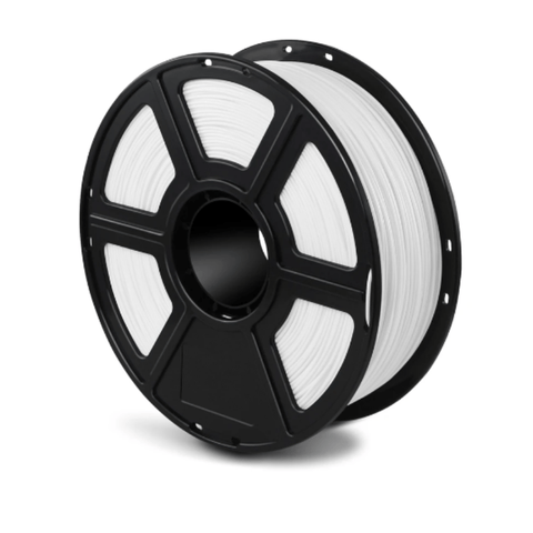 FlashForge White FlashForge ASA Industrial Grade Filament 1.75 MM (Creator 3 and Guider 2s) 3D-FFG-ASAWH